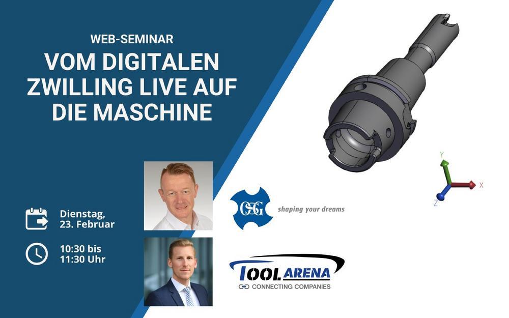 Web-Seminar: Vom digitalen Zwilling live auf die Maschine (Webinar   Online)