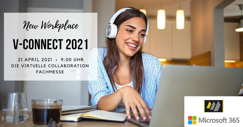 v-connect 2021 die virtuelle Fachmesse zum Thema Collaboration (Messe | Online)