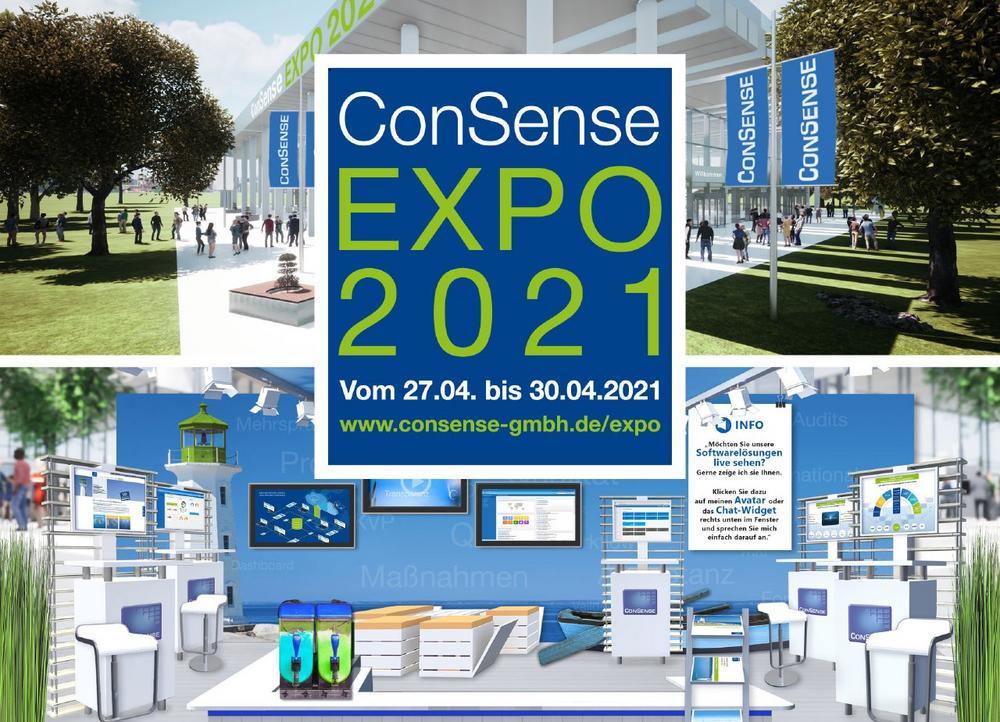 Virtuelle Messe ConSense EXPO 2021 (Messe | Online)