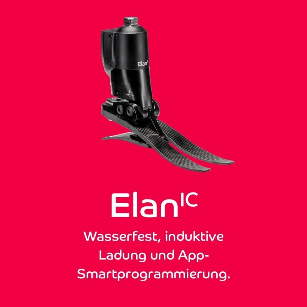 Die Innovation: ElanIC ist der weltweit leichteste, wasserfeste hydraulische Knöchelgelenksfuß (Webinar   Online)