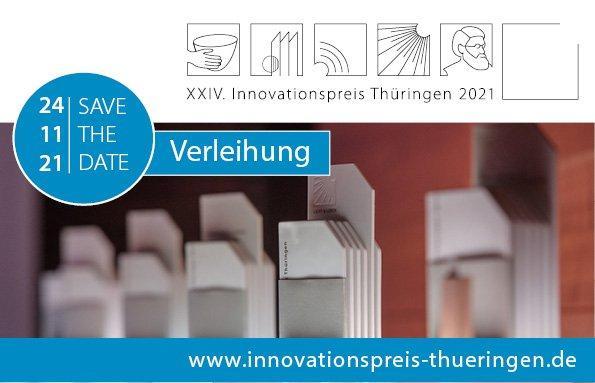 Verleihung Innovationspreis Thüringen 2021 (Networking-Veranstaltung | Weimar)