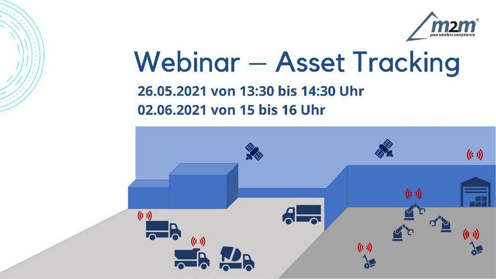 """""""Asset-Tracking  – neu gedacht"""" (Webinar   Online)"""