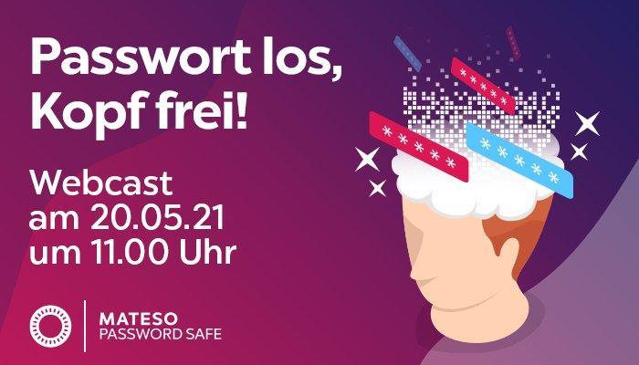 Passwort los, Kopf frei! (Webinar | Online)