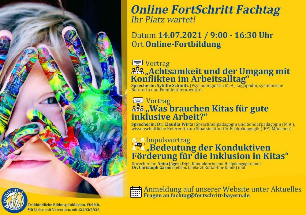 FortSchritt Online-Fachtag 2021 für Fachkräfte der Frühpädagogik (Seminar | Online)