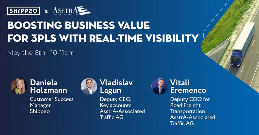 Boosting business value for 3PLs with real-time visibility (Webinar   Online)