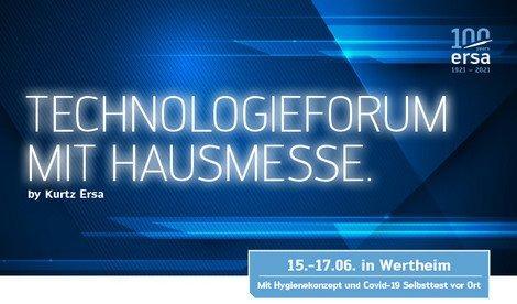 Ersa Technologieforum mit Hausmesse (Kongress   Wertheim)