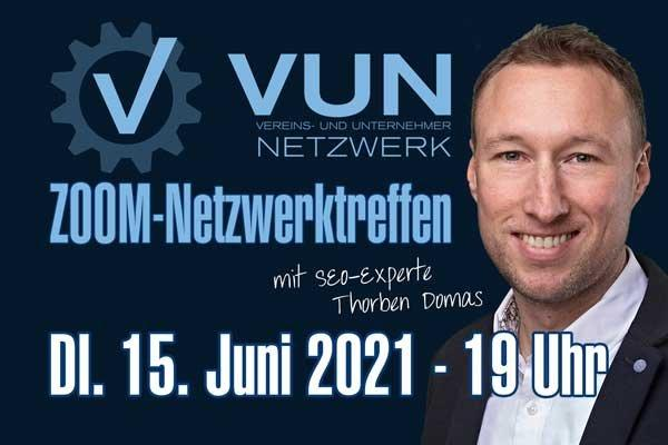 Exklusiver Impuls-Vortrag für das Vereins- und Unternehmernetzwerk VUN am 15.06.2021 (Vortrag   Online)