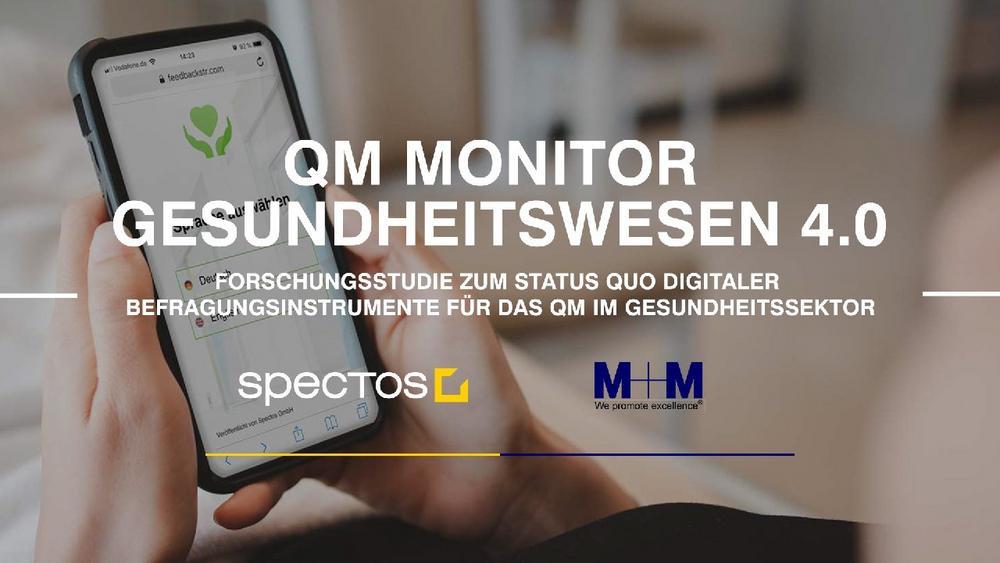 QM Monitor Gesundheitswesen 4.0: Auswertung der Forschungsstudie (Webinar | Online)