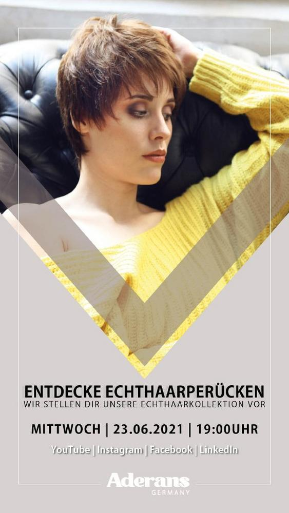 LIVE SHOW | Echthaarkollektion (Vortrag | Online)