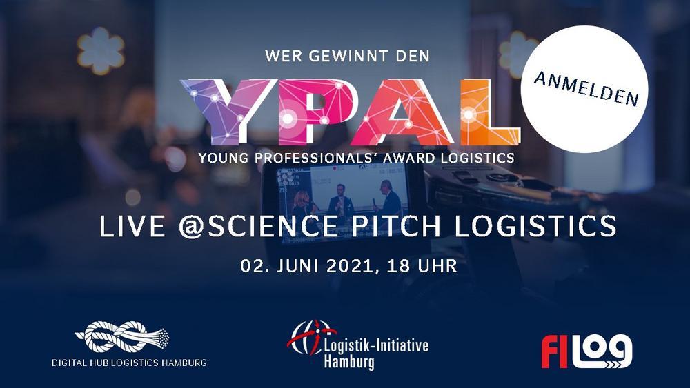 Science Pitch Logistics & Verleihung des Young Professionals' Award Logistics (Networking-Veranstaltung   Online)
