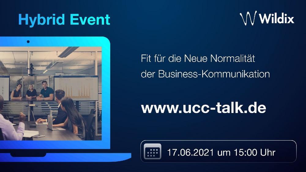 UCC Talk by Wildix: Fit für die Neue Normalität (Vortrag   Online)