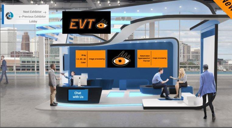EVT auf der virtuellen Vision Week 2021! (Messe   Online)