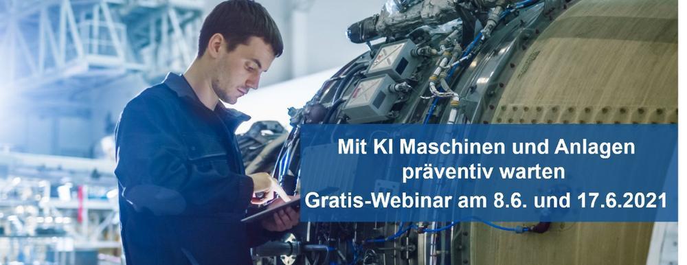 Mit KI Maschinen und Anlagen präventiv warten – Gratis-Webinar zu Predictive Maintenance (Webinar   Online)