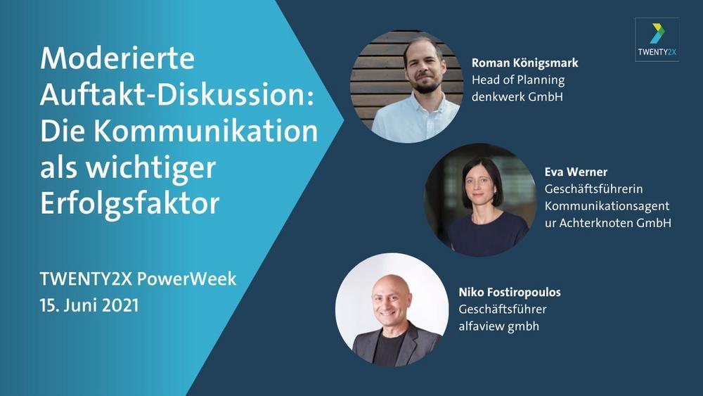 Auftaktdiskussion PowerWeek Kommunikation (Sonstige Veranstaltung | Online)