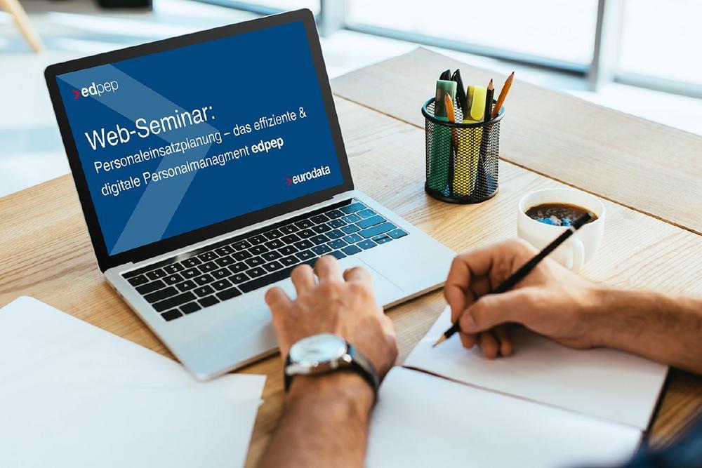 Personaleinsatzplanung – das effiziente & digitale Personalmanagement  edpep – ein Überblick für Int (Webinar   Online)