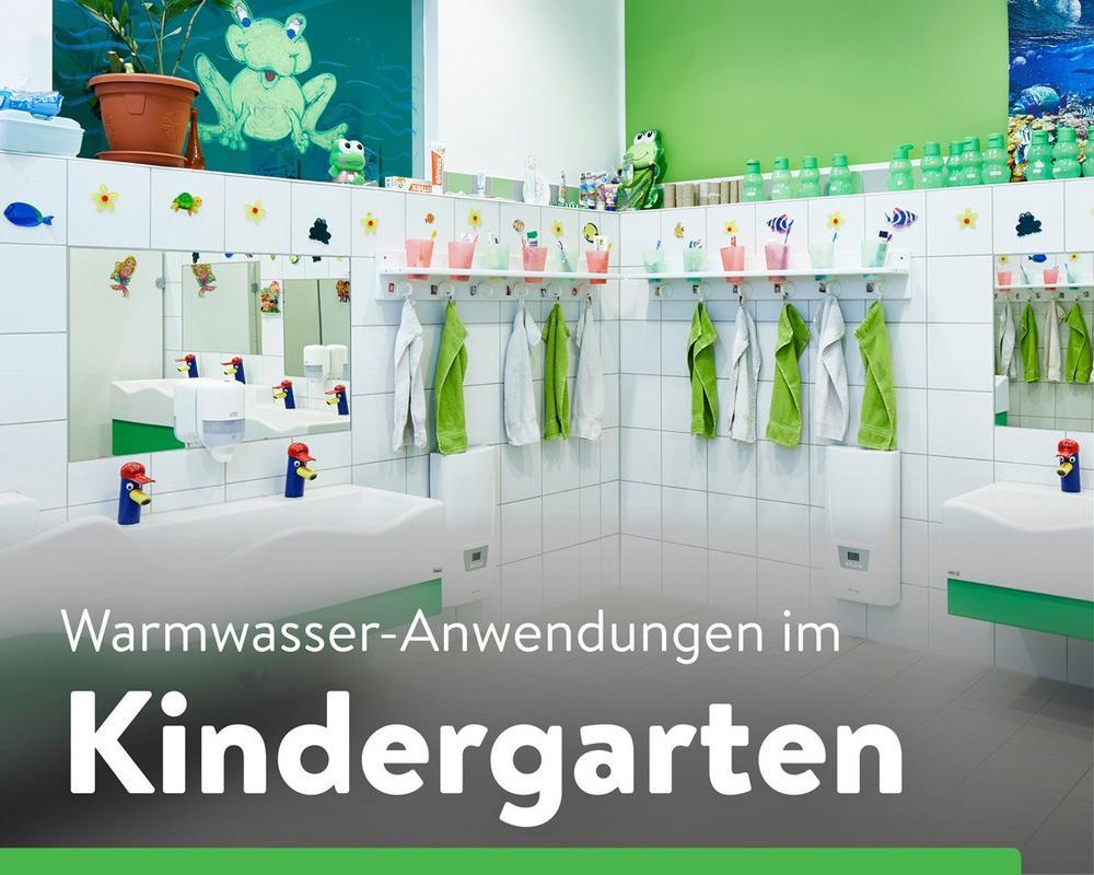 Dezentrale Warmwasserversorgung im Kindergarten (Seminar   Online)