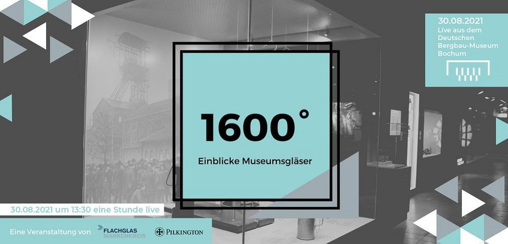 1600° – Einblicke Museumsgläser – Livestream aus dem Deutschen Bergbau-Museum (Webinar   Online)