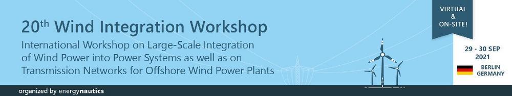 20th Wind Integration Workshop (Konferenz   Online)