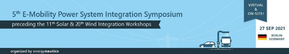 5th E-Mobility Power System Integration Symposium (Konferenz   Berlin)