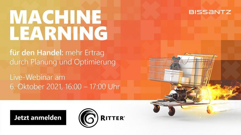 Bissantz präsentiert: Machine Learning für den Handel – Retail Planning as a Service (Webinar | Online)