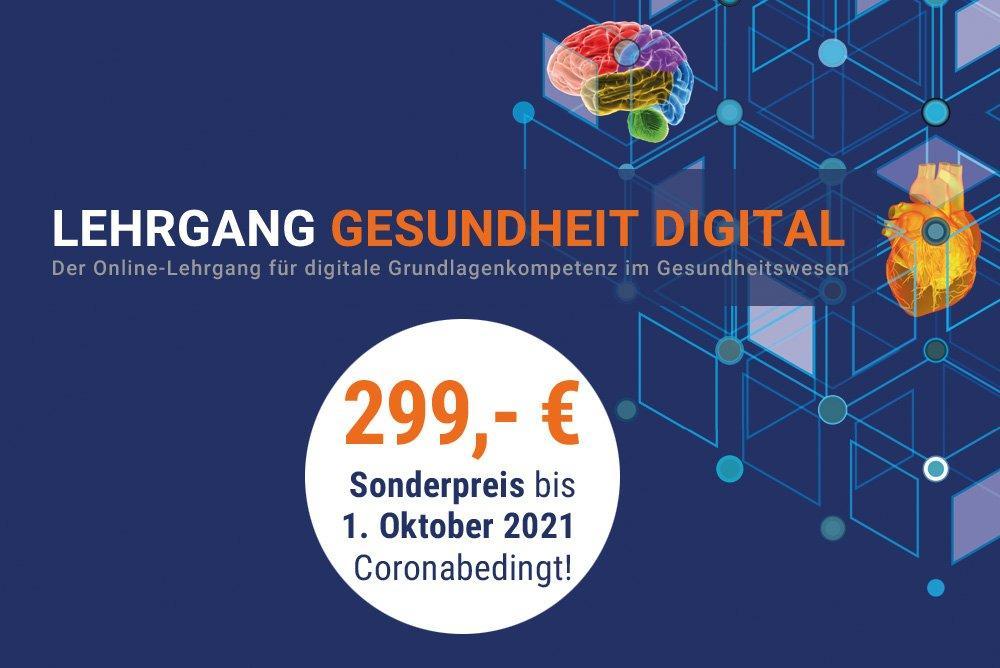 Lehrgang Gesundheit Digital (Schulung   Online)