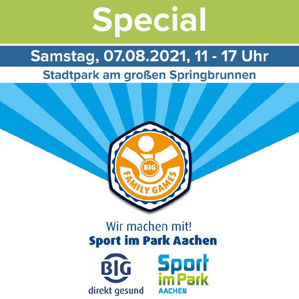 BIG Family Games bei Sport im Park Aachen (Unterhaltung / Freizeit | Aachen)