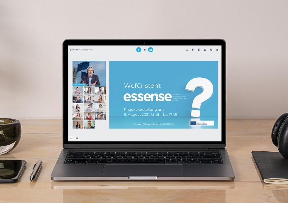 Abschlusspräsentation des EU-Projekts ESSENSE (Vortrag   Online)