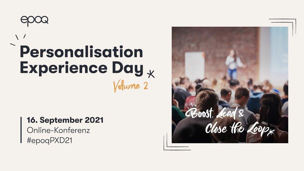 epoq Personalisation Experience Day 2021 (Konferenz | Online)