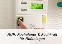 RUF: Fachplaner und Fachkraft für Rufanlagen nach DIN VDE 0834 (Schulung   Fulda)