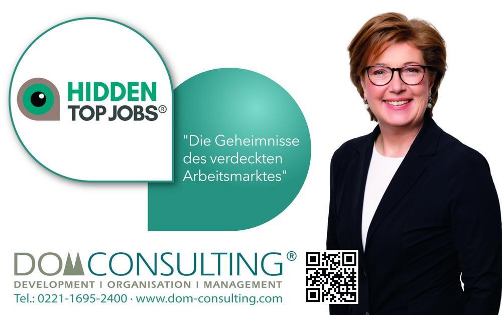 HIDDEN TOP JOBS® – die Geheimnisse des verdeckten Arbeitsmarktes (Vortrag   Köln)
