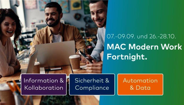 MAC Modern Work Fortnight – Part II (Webinar   Online)