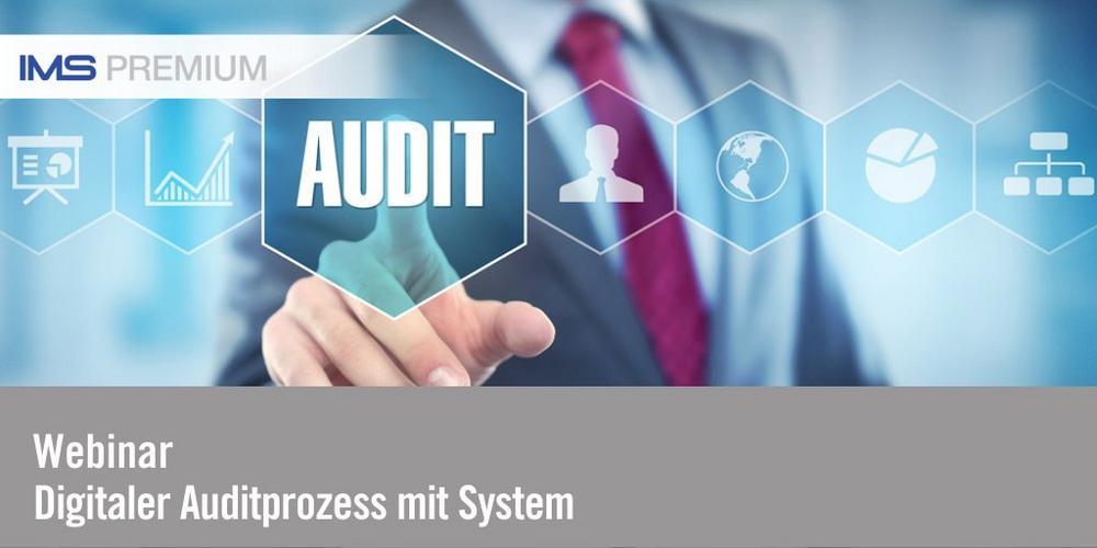 Digitaler Auditprozess mit System (Webinar   Online)
