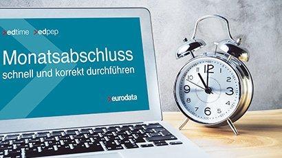 Monatsabschluss schnell und korrekt durchführen – für edpep und edtime Anwender (Webinar   Online)